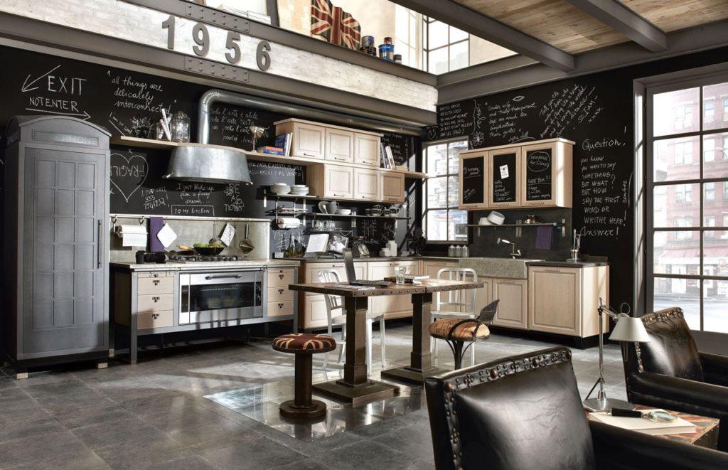 Köök Loft Vintage1956